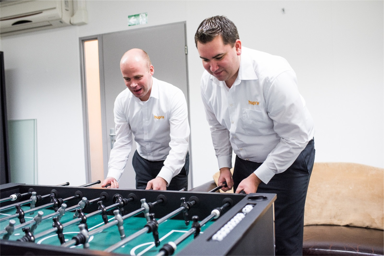 Kom tafelvoetballen als nieuwe Hupra collega